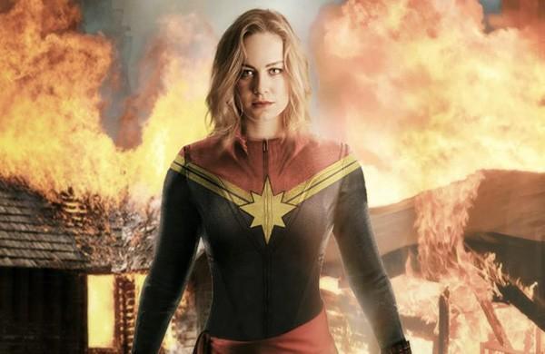 Brie Larson como Capitã Marvel (Foto: Divulgação)