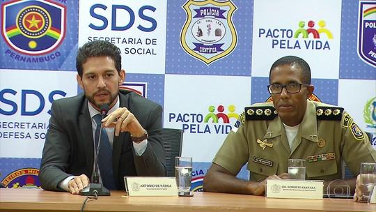 Áreas comerciais de 33 cidades de PE recebem reforço de 3,8 mil policiais no período natalino