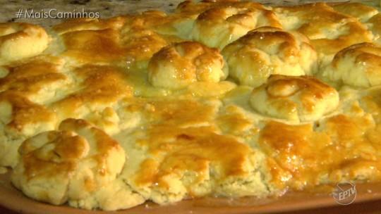 Torta de escarola e queijo é destaque no 'Segredos da Cozinha'