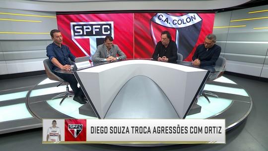 Comentaristas falam de lances de agressões do São Paulo e lances entre Flu e Defensor-URU