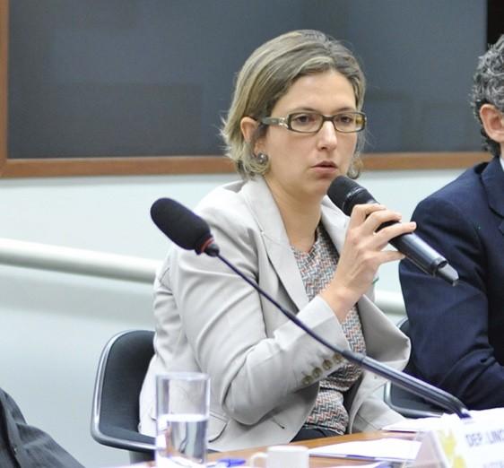 A delegada da Polícia Federal Christiane Correa
