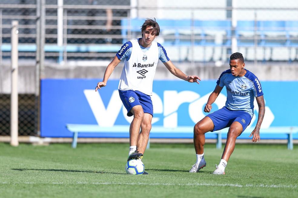 Pedro Geromel fala em foco a cada rodada  — Foto: Lucas Uebel/Grêmio