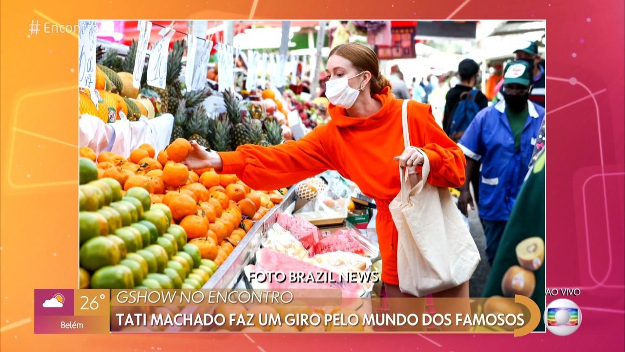 Tati Machado e Fátima brincam sobre 'flagra' em Marina Rui Barbosa