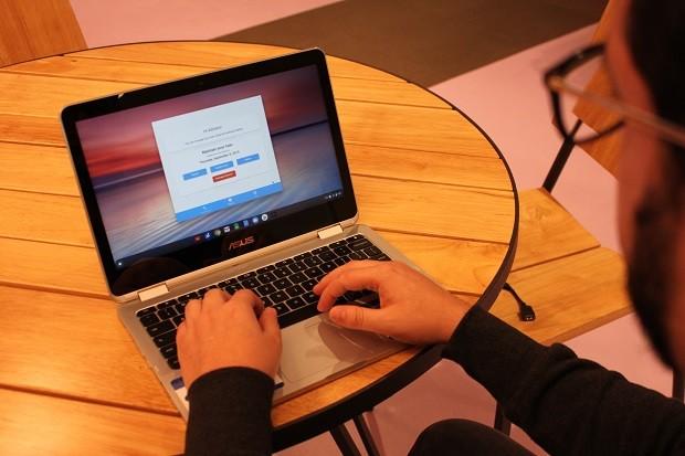 Grab and Go, programa de empréstimo de notebooks do Google (Foto: Divulgação)