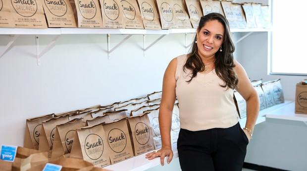 Larissa Sousa dos Santos, fundadora da Snack Saudável (Foto: Divulgação)