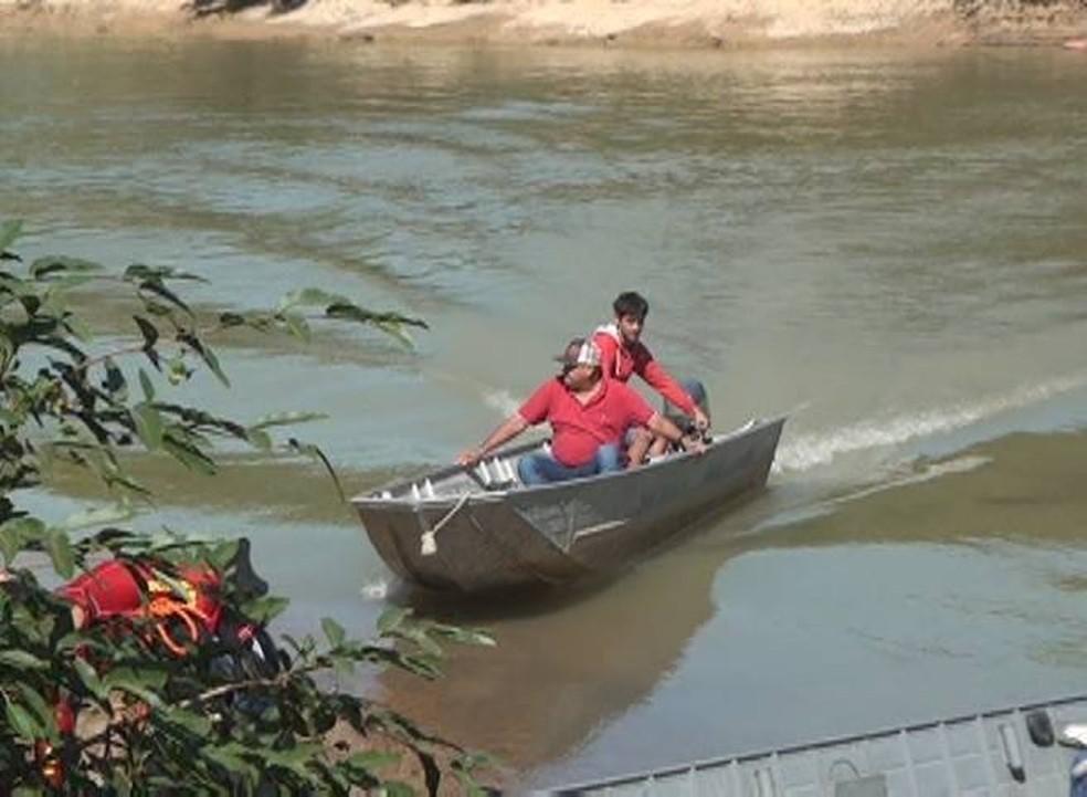 Corpo de Bombeiros realizou buscas para encontrar os corpos (Foto: Arquivo Pessoal)