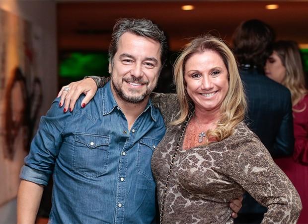 Carlinhos Vieira e Sônia Meneguete (Foto: Alexandre Virgilio e Rafael Cusato/Brazil News)