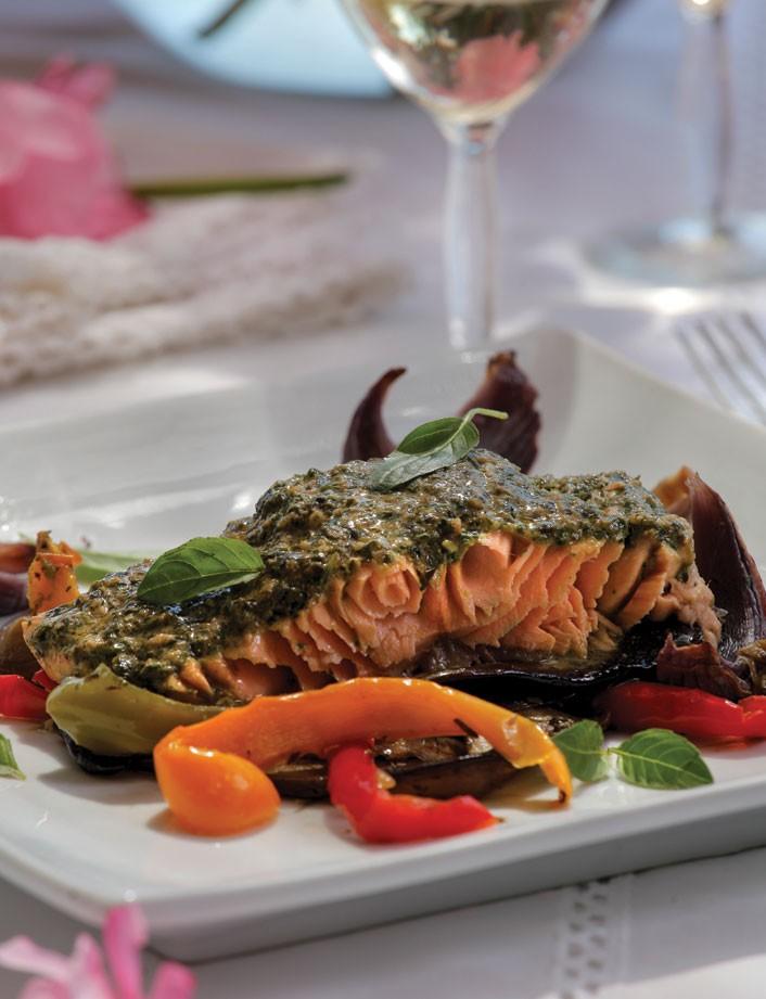 Receita de salmão marinado ao pesto (Foto: Divulgação)