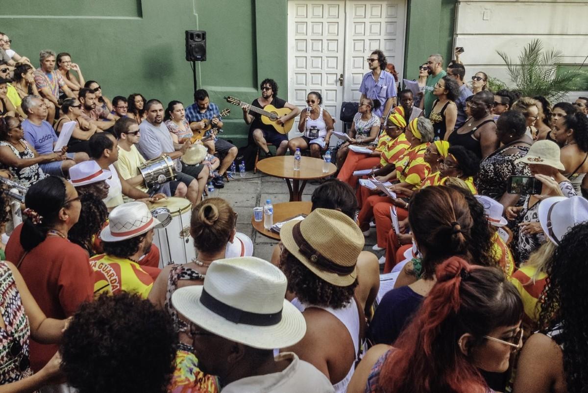 Projeto em Florianópolis resgata história do samba e traz a participação de Tuco Pellegrino