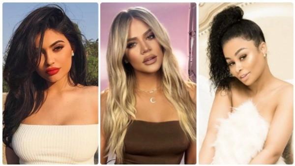 Kylie Jenner, Khloé Kardashian e Blac Chyna (Foto: Instagram)