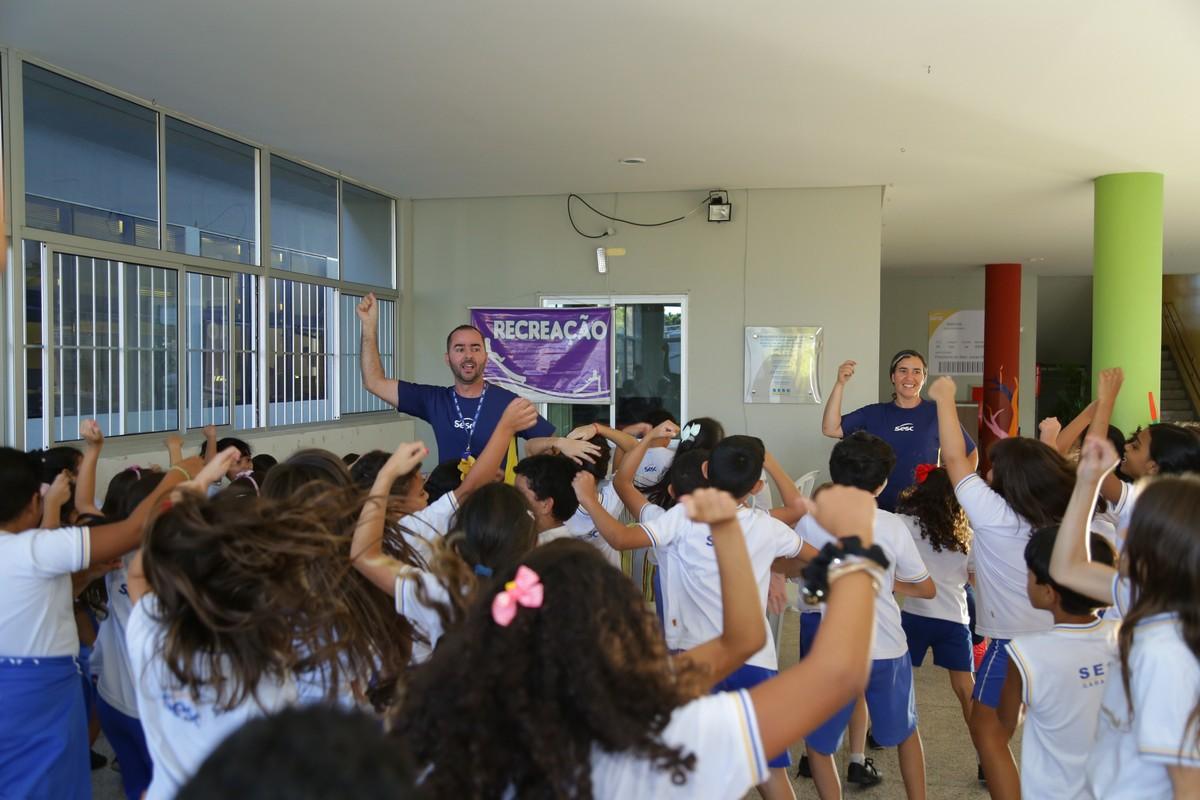 Projeto 'Brincando nas Férias' é realizado no Sesc Garanhuns