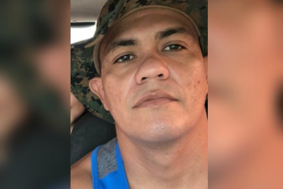 Diego Oliveira Martins, policial militar, assassinado em Fortaleza. — Foto: Reprodução