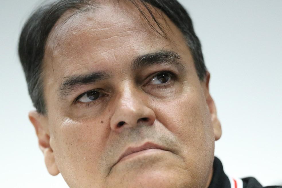 Nei Pandolfo, executivo de futebol do Santa Cruz — Foto: Marlon Costa / Pernambuco Press