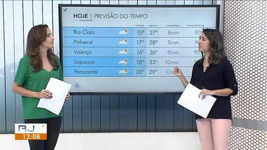 Frente fria avança e sexta-feira será de temperaturas mais baixas no Sul do Rio
