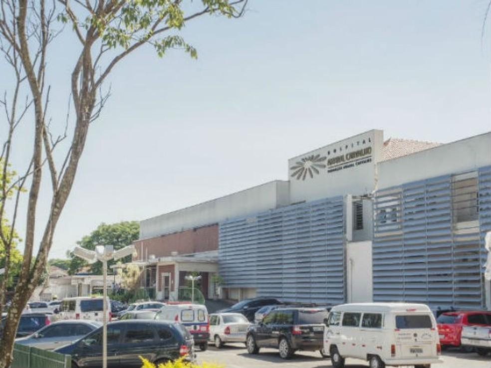 Hospital é referência nacional na prevenção e tratamento de câncer — Foto: Divulgação