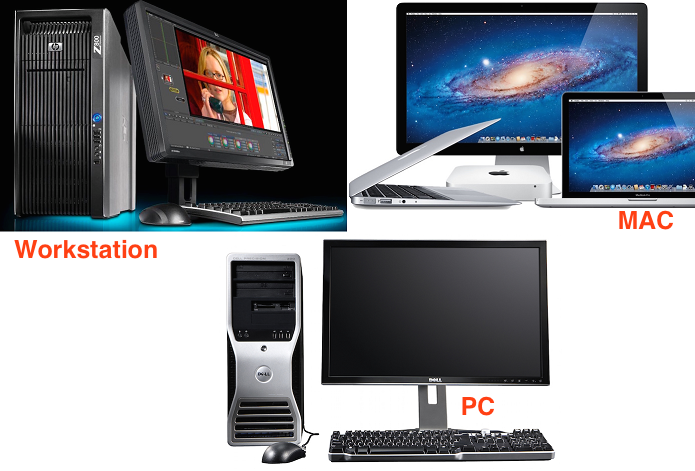 Mac, PC, Workstation e mais usam em conjunto hardwares e softwares (Foto: Reprodu??o/TechTudo)