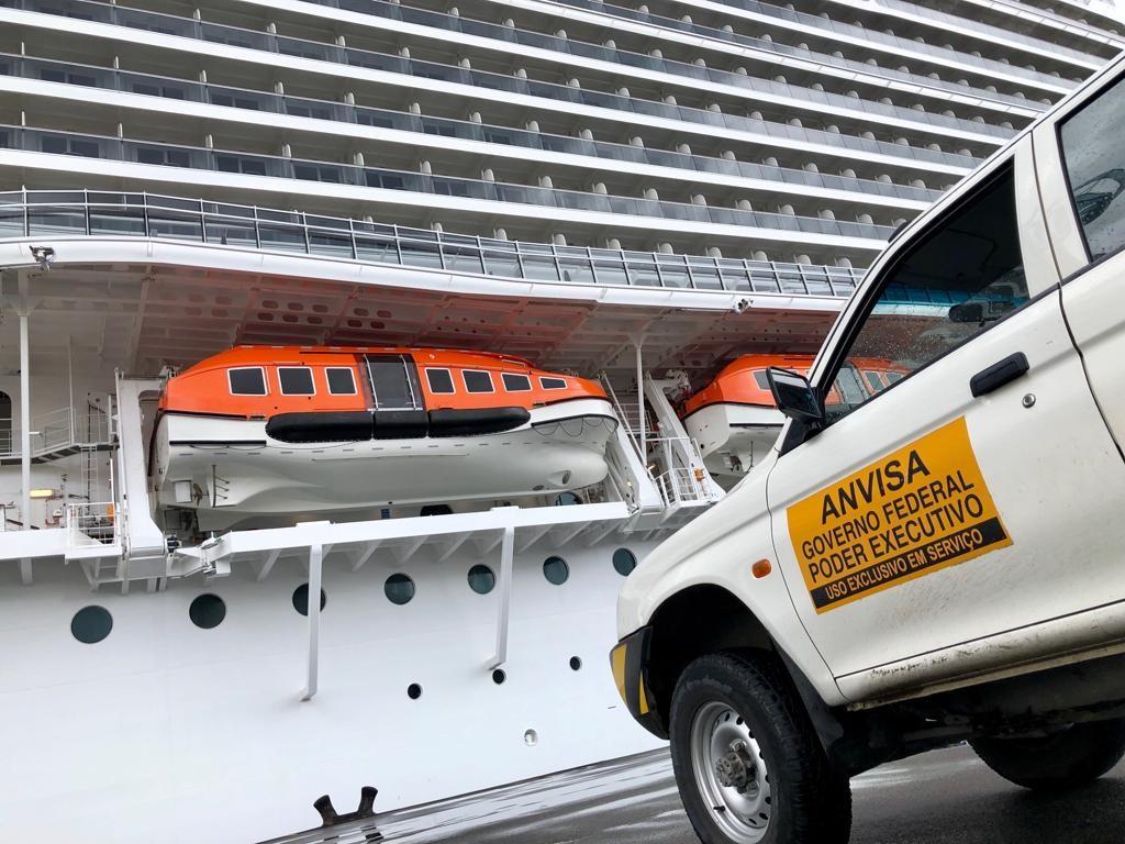 Anvisa dá novas orientações à empresas de navios de cruzeiro por conta do novo coronavírus