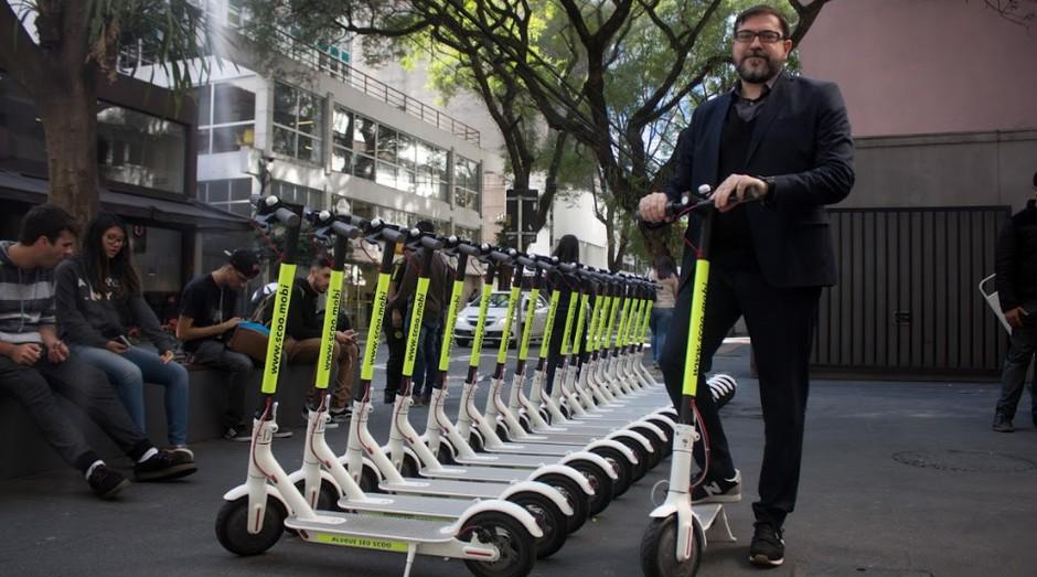 Marcelo Duarte, fundador da Scoo, startup de patinetes elétricos (Foto: Divulgação)