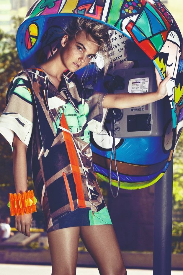 Eu na Vogue: Ligação Ocupada (Foto: Reprodução)