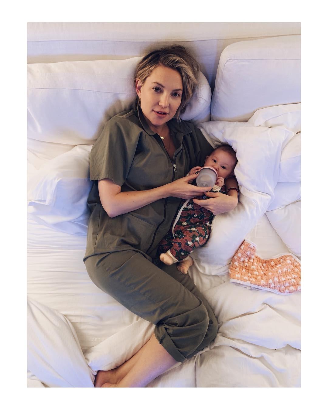 Kate Hudson e a filha Rani (Foto: Reprodução Instagram)