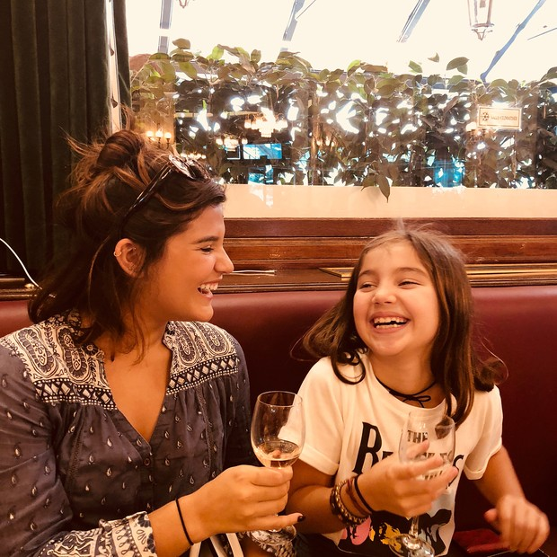 Giulia e Olívia Costa (Foto: Reprodução/Instagram)