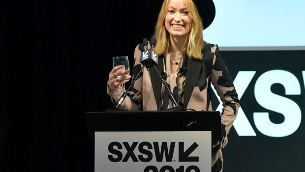 Atriz Olivia Wilde durante apresentação no festival SXSW (Foto: Danny Matson/Getty Images for SXSW)