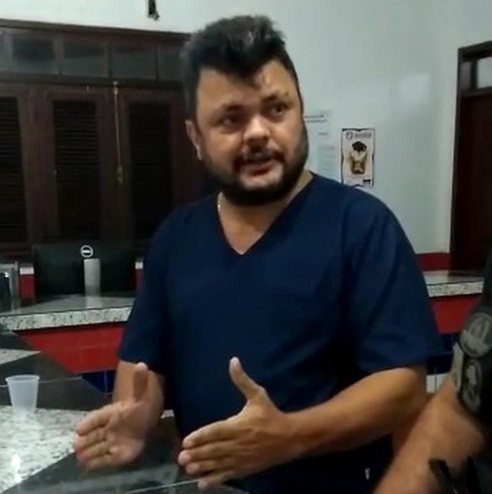 Paulo Roberto Penha Costa foi preso acusado de omitir socorro a recém-nascido em Pinheiro (MA). (Foto: Divulgação)