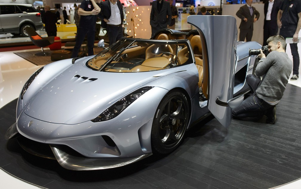 Koenigsegg Regera - Photo: Martial Trezzini / AP Photo / Keystone