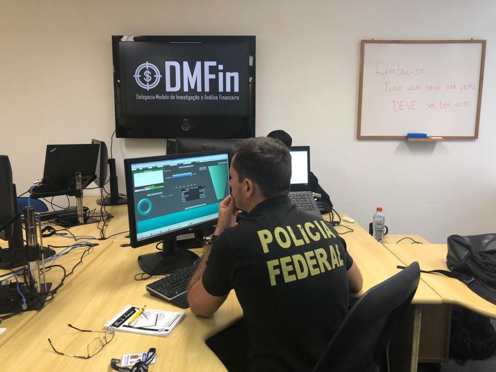 Nova delegacia deve aproximar os setores de perícia e investigação, segundo a Polícia Federal — Foto: Divulgação/Polícia Federal