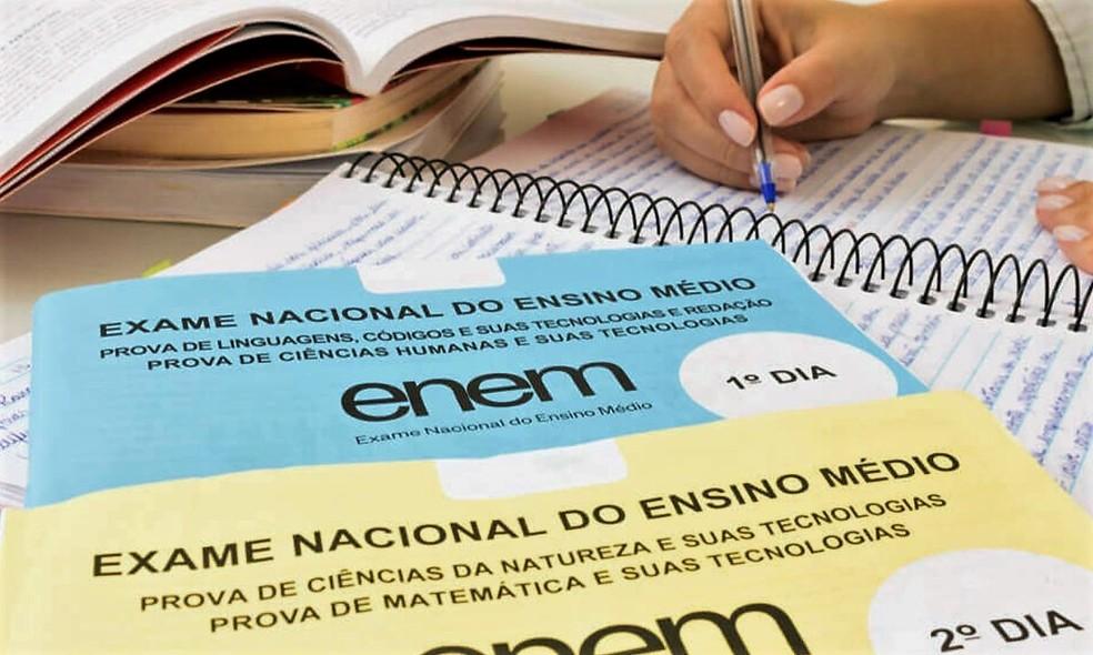 Provas do Enem — Foto: Divulgação