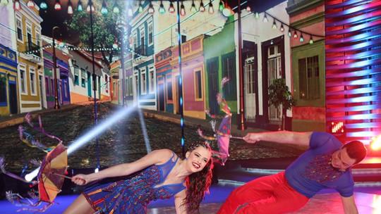 Agatha Moreira é eliminada do 'Dança dos Famosos 2015'