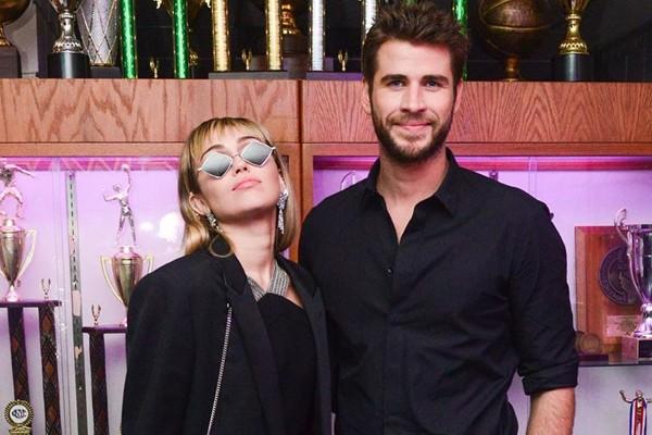 Miley Cyrus e Liam Hemsworth (Foto: Reprodução / Instagram)