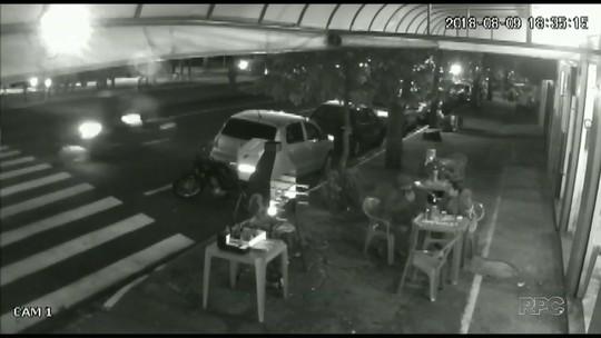 Vídeo mostra atropelamento que matou idoso de 83 anos em Maringá