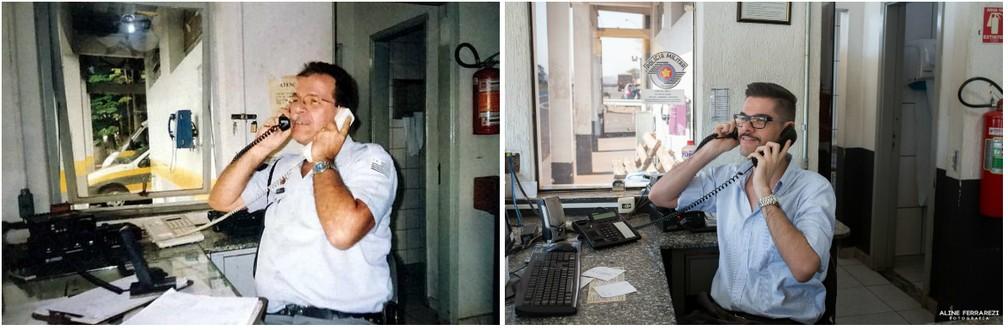 Policial trabalhava como controlador de rádio na base de Araraquara (Foto: Aline Ferrarezi)