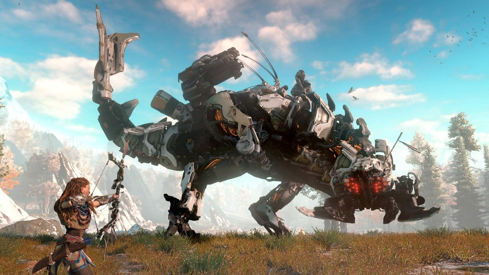 Horizon Zero Dawn é exclusivo de PS4 (Foto: Divulgação/Sony)