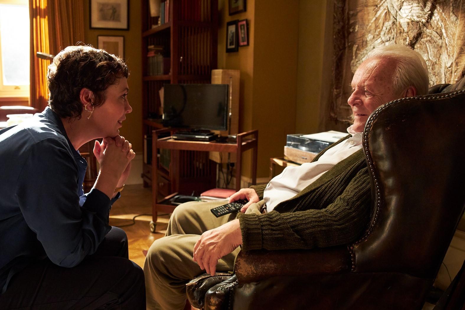 Olivia Colman e Anthony Hopkins contam história sobre demência no filme 'Meu Pai'