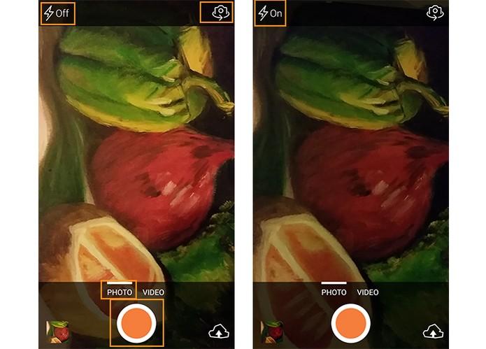 Registre imagens compactas no Android (Foto: Reprodução/Barbara Mannara)