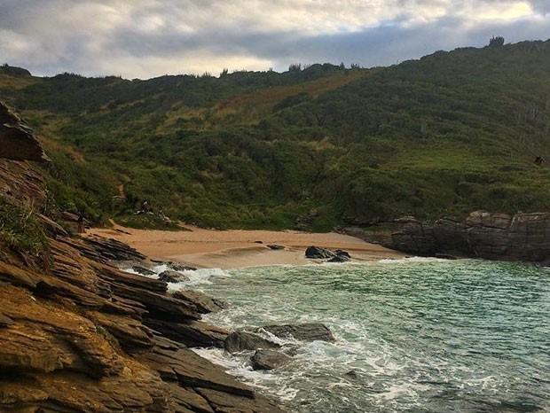 Praia de Olho de Boi, em Búzios, no Rio de Janeiro (Foto: Reprodução/Instagram)