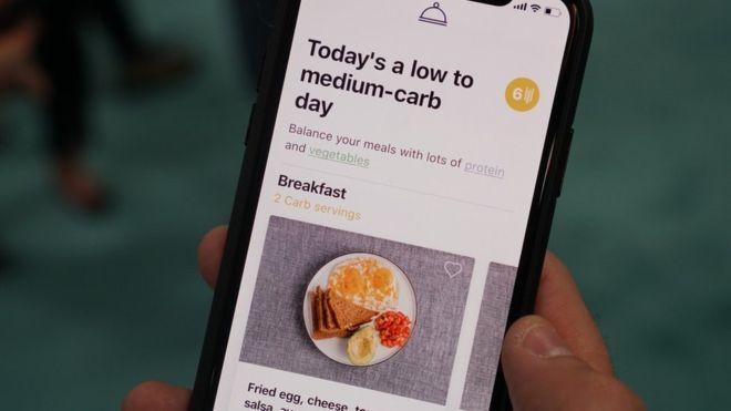 Aplicativo dá conselhos sobre o que usuário deve comer naquele dia (Foto: Divulgação )