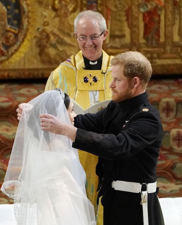 O bispo Justin Welby no casamento de Meghan Markle com o Príncipe Harry (Foto: Getty Images)