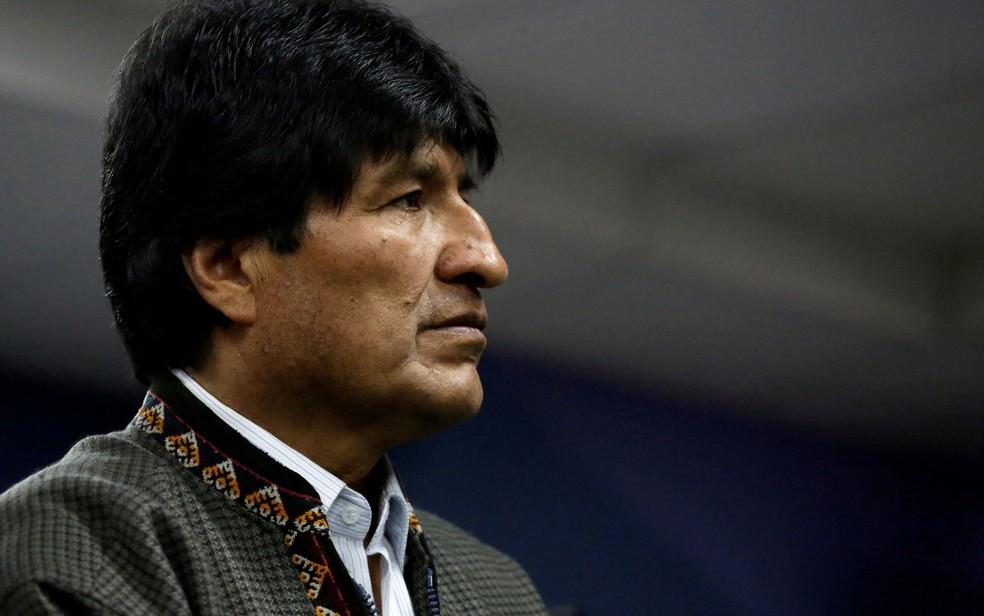O presidente da Bolívia, Evo Morales (Foto: Reuters/David Mercado)