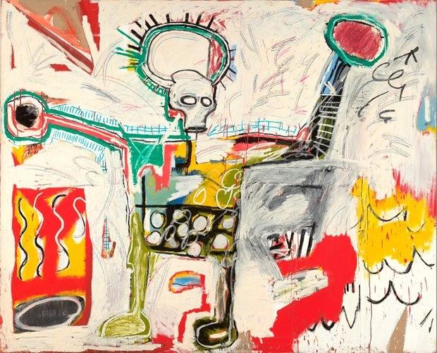Sem título, 1982, de Jean-Michel Basquiat (Foto: Divulgação)