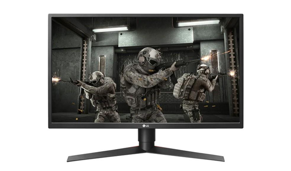 Monitor Gamer LG 27GK750F-B tem 27 polegadas de tela e resolução Full HD — Foto: Divulgação/LG