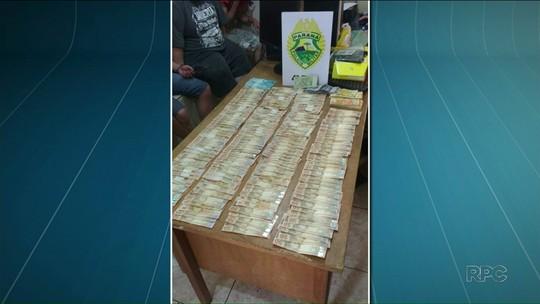 Polícia prende sete suspeitos de roubo a agência bancária em Guairaçá, no noroeste do Paraná