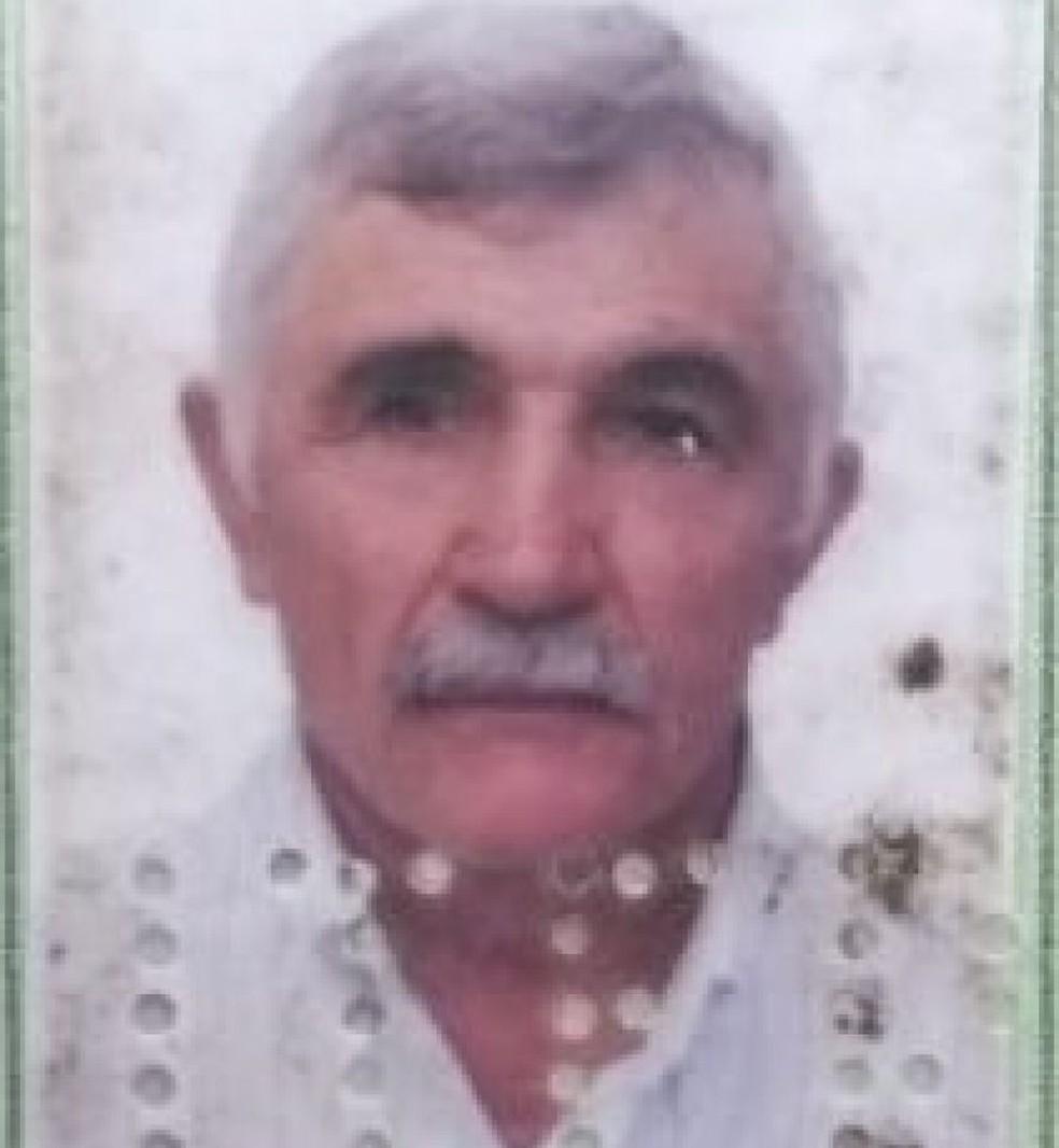 Leônidas Barboza de Miranda, de 67 anos, era comerciante em Governador Dix-Sept Rosado (Foto: Divulgação/Políciai Militar)
