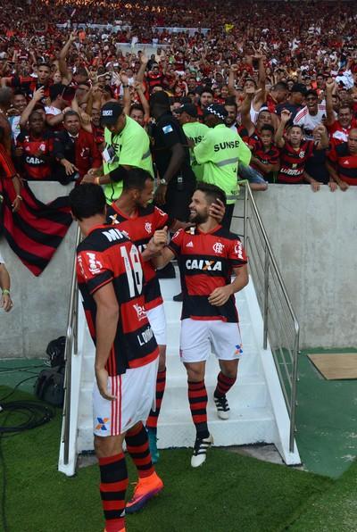 diego gol (Foto: André Durão / GloboEsporte.com)