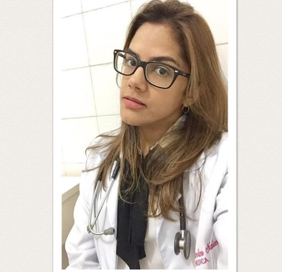 Caroline Naiane foi morta a facadas na frente da filha, em Teresina. — Foto: Reprodução/Instagram