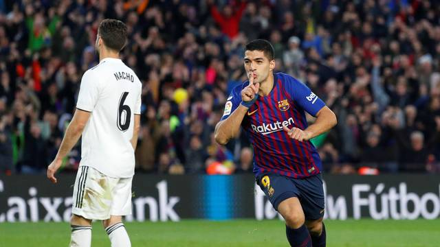 Luis Suárez Barcelona Real Madrid