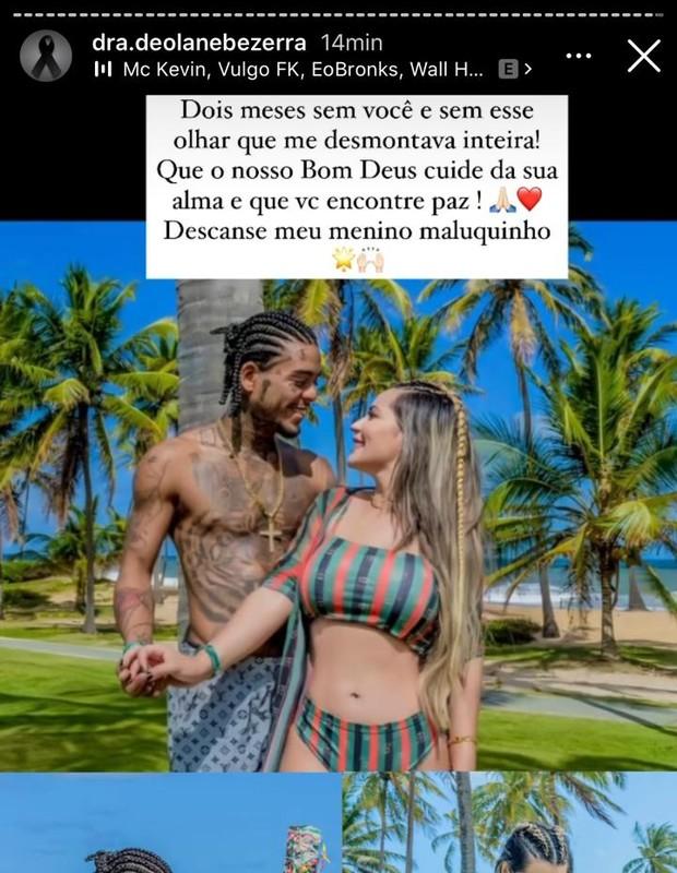MC Kevin e Deolane Bezerra (Foto: Reprodução/Instagram)