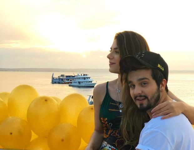 Luan Santana e Jade Magalhães (Foto: Reprodução/Instagram)